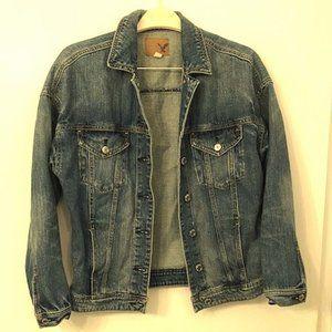 American Eagle Outfitters Denim Boyfriend Jacket